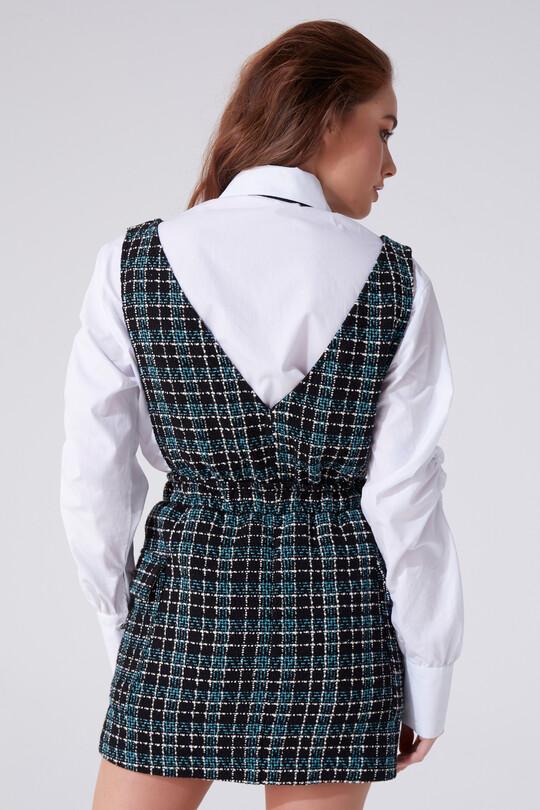 PLUSH JEWELRY DRESS