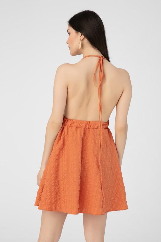 HIGH FILLING BACK DRESS