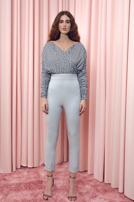 ORABELLA - Long Sleeve Crowded Trousers