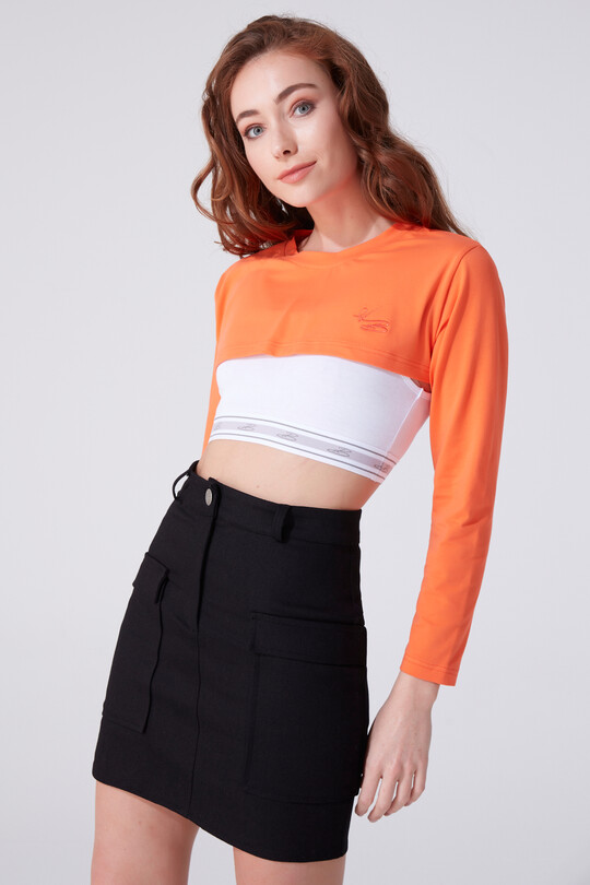 BERFUĞ KIRAN - LONG SLEEVE CROP