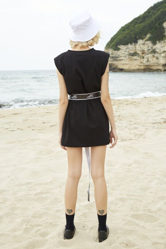wadding Sport Dress-BLACK