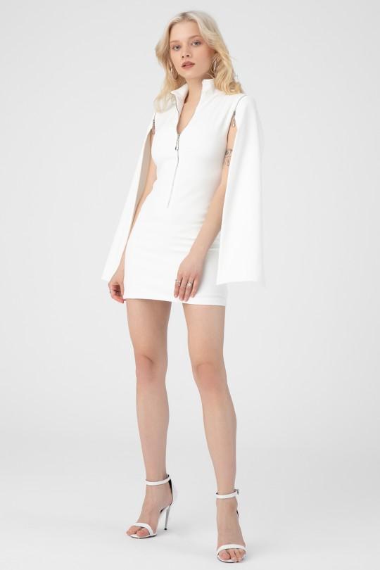 ZIPPER FRONT DRESS